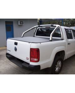 Clip On Soft Tonneau Cover for VOLKSWAGEN Amarok 2H 4dr Ute Dual Cab 02/11 On
