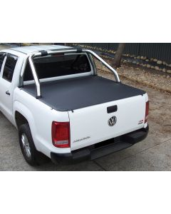 No Drill Soft Tonneau Cover for VOLKSWAGEN Amarok 2H 4dr Ute Dual Cab 02/11 On