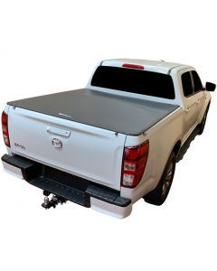 No Drill Soft Tonneau Cover for MAZDA BT50 4dr Ute Dual Cab 08/20 on