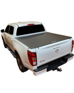 Clip On Soft Tonneau Cover for MAZDA BT50 4dr Ute Dual Cab 08/20 on