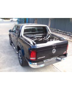 Fibreglass 3pc Ute Lid for VOLKSWAGEN Amarok 4dr Dual Cab with Extended Sports Bar