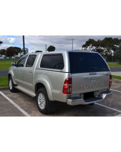 Aeroklas Stylish Canopy for TOYOTA Hilux 04/05 to 09/15