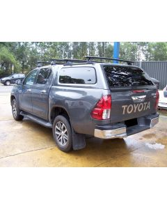 Aeroklas Stylish Canopy for TOYOTA Hilux A-Deck 4dr Ute Dual Cab 10/15 On