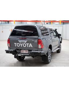 Aeroklas Buddy Canopy for TOYOTA Hilux A-Deck 4dr Ute Dual Cab 10/15 On