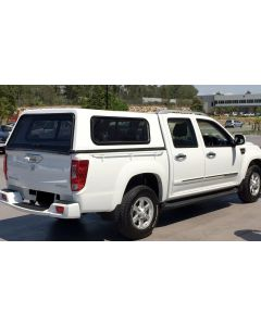 Smooth Fibreglass Trade Canopy for GREAT WALL Steed 4dr Dual Cab 07/16 On