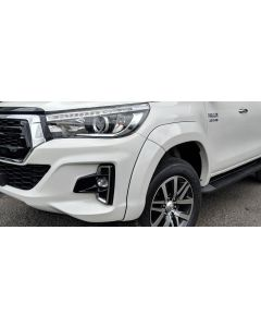 EGR Fender Flares - Front Set for TOYOTA Hilux Cab Chassis Wide Body 08/18 to 07/20