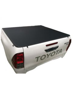 Clip On Soft Tonneau Cover for TOYOTA Hilux A-Deck 4dr Dual Cab 04/05 to 09/15