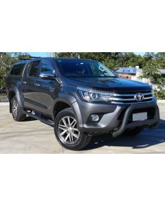 EGR Black Nudge Bar for TOYOTA Hilux 10/15 to 2018