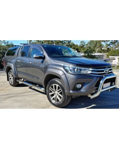 EGR Polished Nudge Bar for TOYOTA Hilux 10/15 to 2018