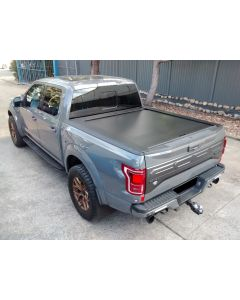 Retractable Electric Tonneau Cover for FORD F150 4dr Ute Dual Cab 2015 On