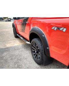 EGR Fender Flares - Bolt Style - Full Set for HOLDEN Colorado RG Series II 4dr Ute Dual Cab 07/16 to 2020