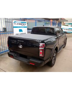 Clip On Soft Tonneau Cover for GREAT WALL Cannon 4dr Dual Cab 09/20 on