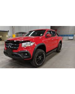 EGR Fender Flares - Full Set for MERCEDES BENZ X-Class 4dr Ute Dual Cab 04/18 to 2020