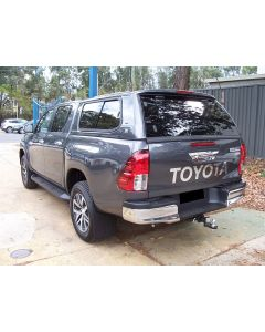 Mean Mother Canopy for TOYOTA Hilux A-Deck 4dr Ute Dual Cab 10/15 On