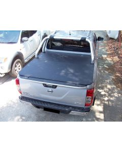 Clip On Soft Tonneau Cover for NISSAN Navara NP300 4dr Dual Cab 07/15 to 2020
