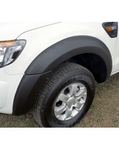 EGR Fender Flares - Front Set for FORD Ranger PX Ute Cab Chassis 10/11 to 05/15