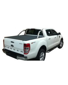 No Drill Soft Tonneau Cover for FORD PX Ranger & Raptor 4dr Ute Dual Cab 10/11 On