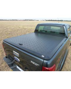 EGR 1pc Aluminium Load Shield for FORD PX Ranger & Raptor 4dr Ute Dual Cab 10/11 On