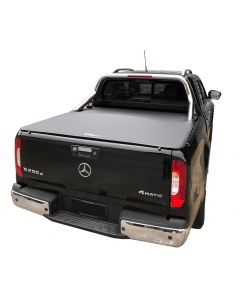 No Drill Soft Tonneau Cover for MERCEDES BENZ X-Class 4dr Ute 04/18 to 2020